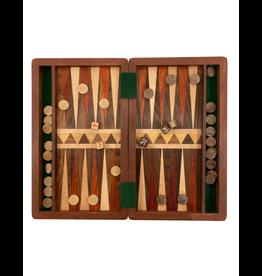 Sasha Association for Crafts Producers Mixed Wood Backgammon Game