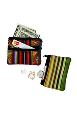 Minga Imports Colourful Zip Coin Pouch