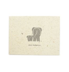 Mr. Ellie Pooh Poo Happens Greeting Card