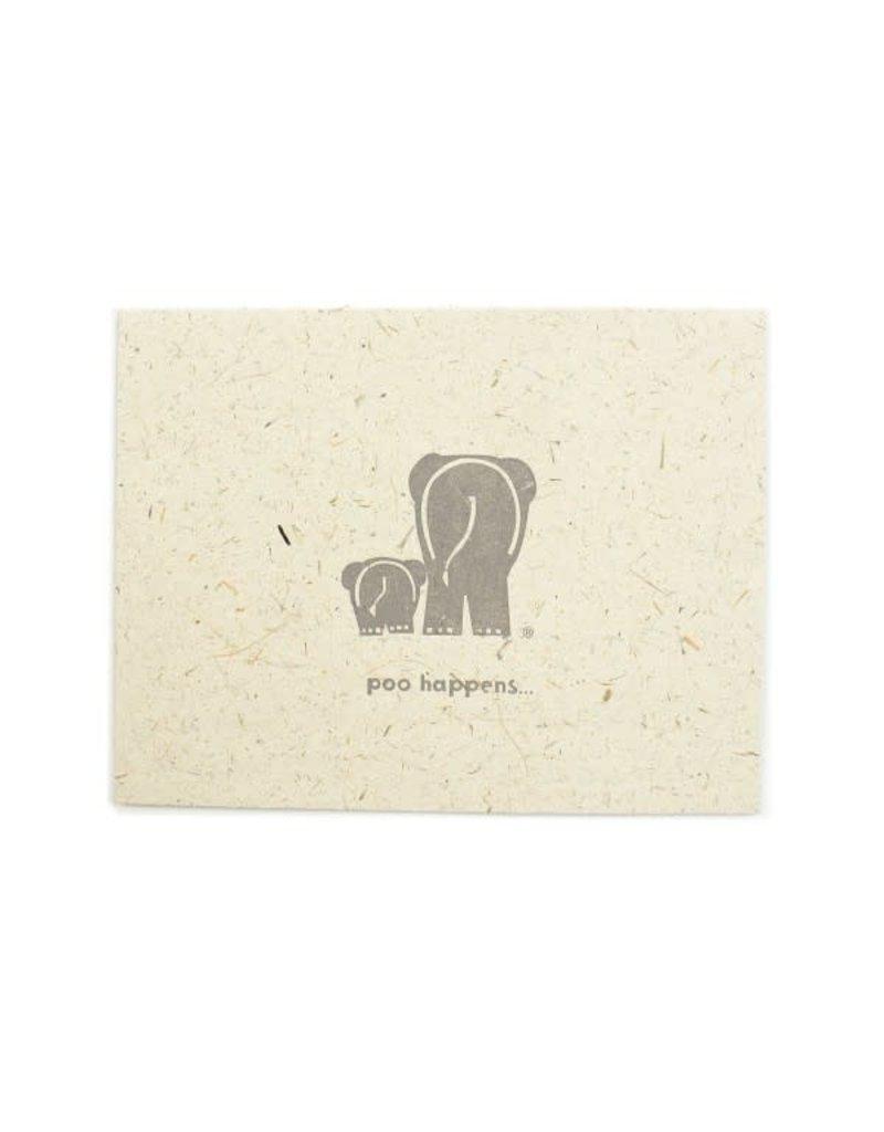 Mr. Ellie Pooh Poo Happens Greeting Card