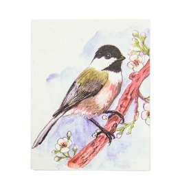 Mr. Ellie Pooh Chickadee Greeting Card