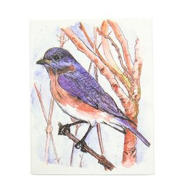 Mr. Ellie Pooh Bluebird Greeting Card