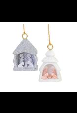 Lucuma Designs Alabaster Nativity Ornament