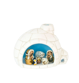 Lucuma Designs Igloo Nativity