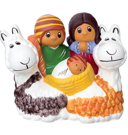 Lucuma Designs Llama Nativity