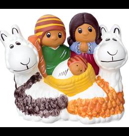 Lucuma Designs Llama Nativity