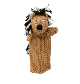 Lucuma Designs Porcupine Finger Puppet