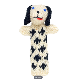Lucuma Designs Dalmatian Finger Puppet