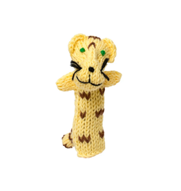 Lucuma Designs Jaguar Finger Puppet