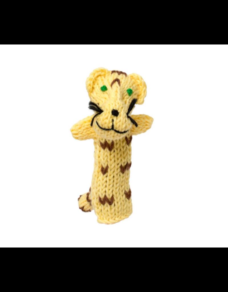 Lucuma Designs Jaguar Finger Puppet