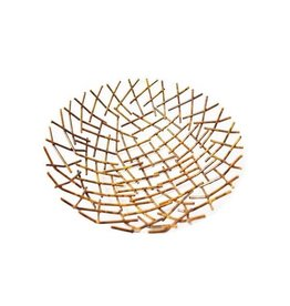 Mira Fair Trade Metal Twigs Bowl