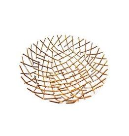 Mira Fair Trade Metal Twigs Bowl