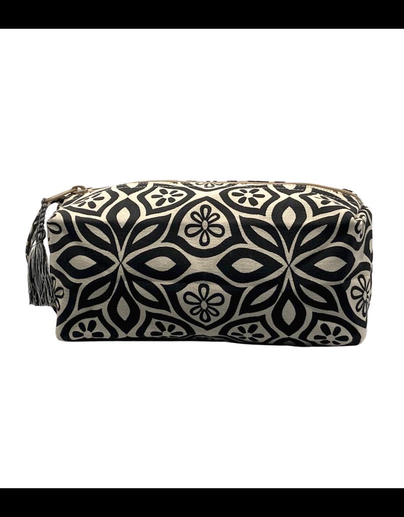 Saidpur Enterprises Canvas Floral Travel Bag - Grey