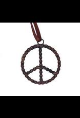 Mira Fair Trade Bike Chain Peace Ornament