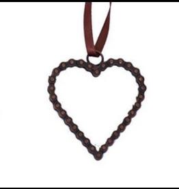 Mira Fair Trade Bike Chain Heart Ornament