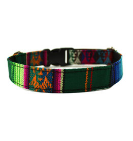 Minga Imports Colourful Dog Collar