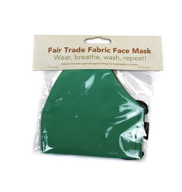 Minga Imports Solid Fabric Face Mask