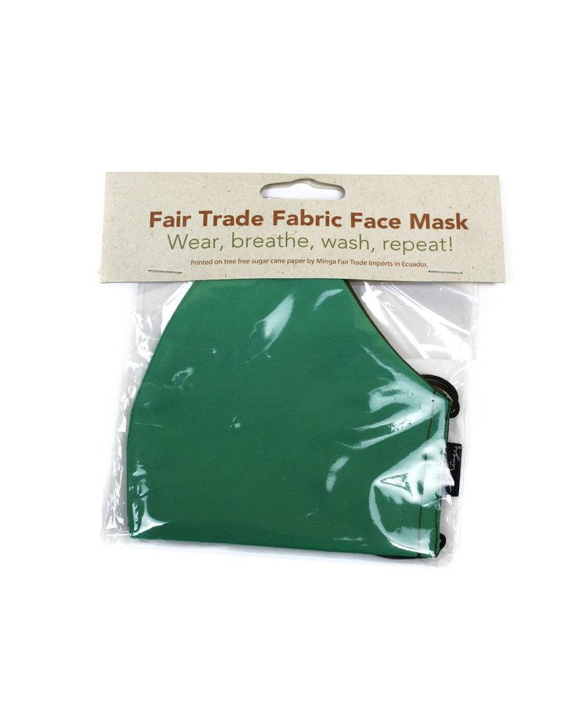 Minga Imports Solid Fabric Face Mask