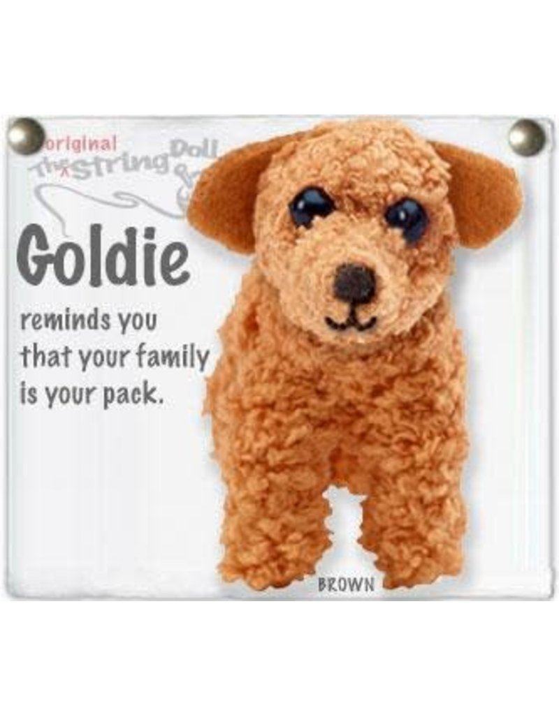 Kamibashi Goldie Dog Keychain