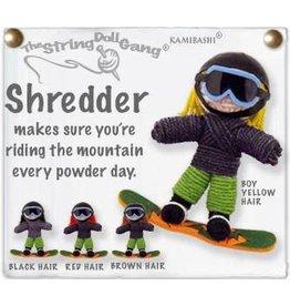 Kamibashi Shredder Kid Snowboard Keychain