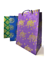 Bhaktapur Craft Paper Large Paper Gift Bag 12""