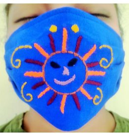 Lucia's Imports Kids Embroidered Face Mask
