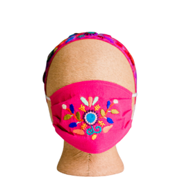 Lucia's Imports Kids Headband with Mask Set