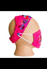 Lucia's Imports Kids Headband with Mask Set
