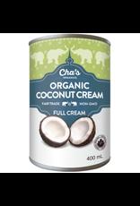 Cha's Organics Full Coconut Cream