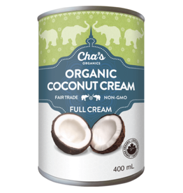 Cha's Organics Full Coconut Cream
