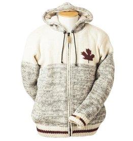 ARK Imports Maple Cabin Cardigan