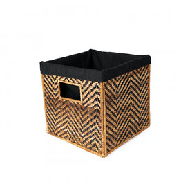 "Azizi Life Medium Banana Panel Nesting Cube 10"""