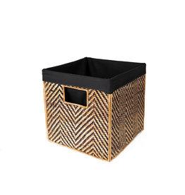 """Azizi Life Large Banana Panel Nesting Cube 12"""""""