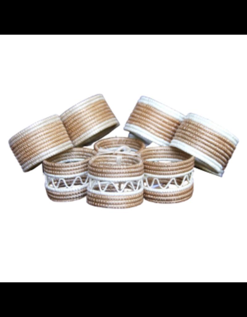 Natural Woven Napkin Rings