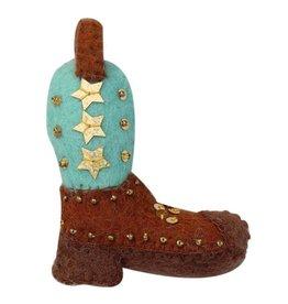 Global Groove Western Boot Ornament