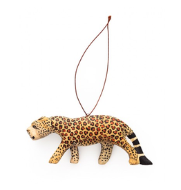 Undugu Society of Kenya Endangered Leopard Ornament