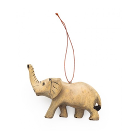 Undugu Society of Kenya Endangered Elephant Ornament