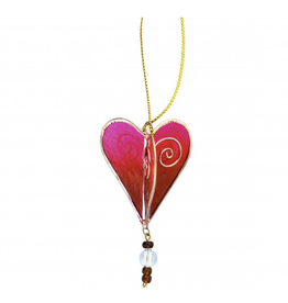 Acacia Creations Capiz Shell Heart Ornament
