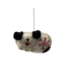 Global Groove Sleeping Puppy Ornament