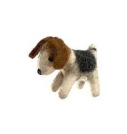 The Winding Road Felted Dog Ornament