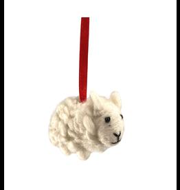 Laundromat Felt Woodland Sheep Ornament