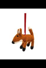 Laundromat Felt Woodland Fox Ornament
