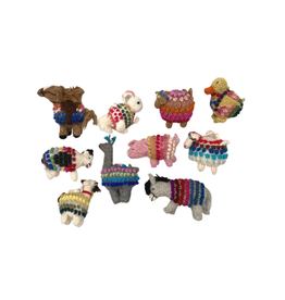 Lucuma Designs Knit Barnyard Animal Ornament