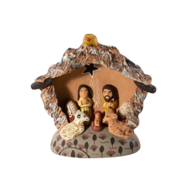 Lucuma Designs Star Nativity Creche