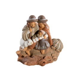 Lucuma Designs Sheep and Holy Family Nativity