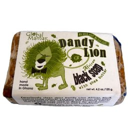 Shea Soap Production Center Dandy Lion Black Soap Shea