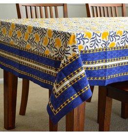Living Imprints Royal Marigold Square Tablecloth