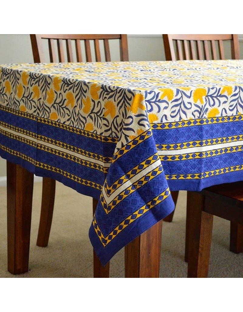 Jubilee Traders Royal Marigold Square Tablecloth