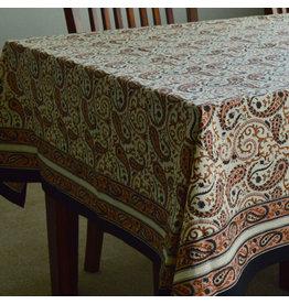 Living Imprints Chai Paisley Square Tablecloth