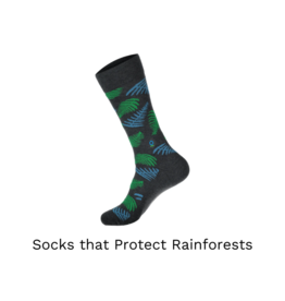 Conscious Step Socks that Protect the Rainforest